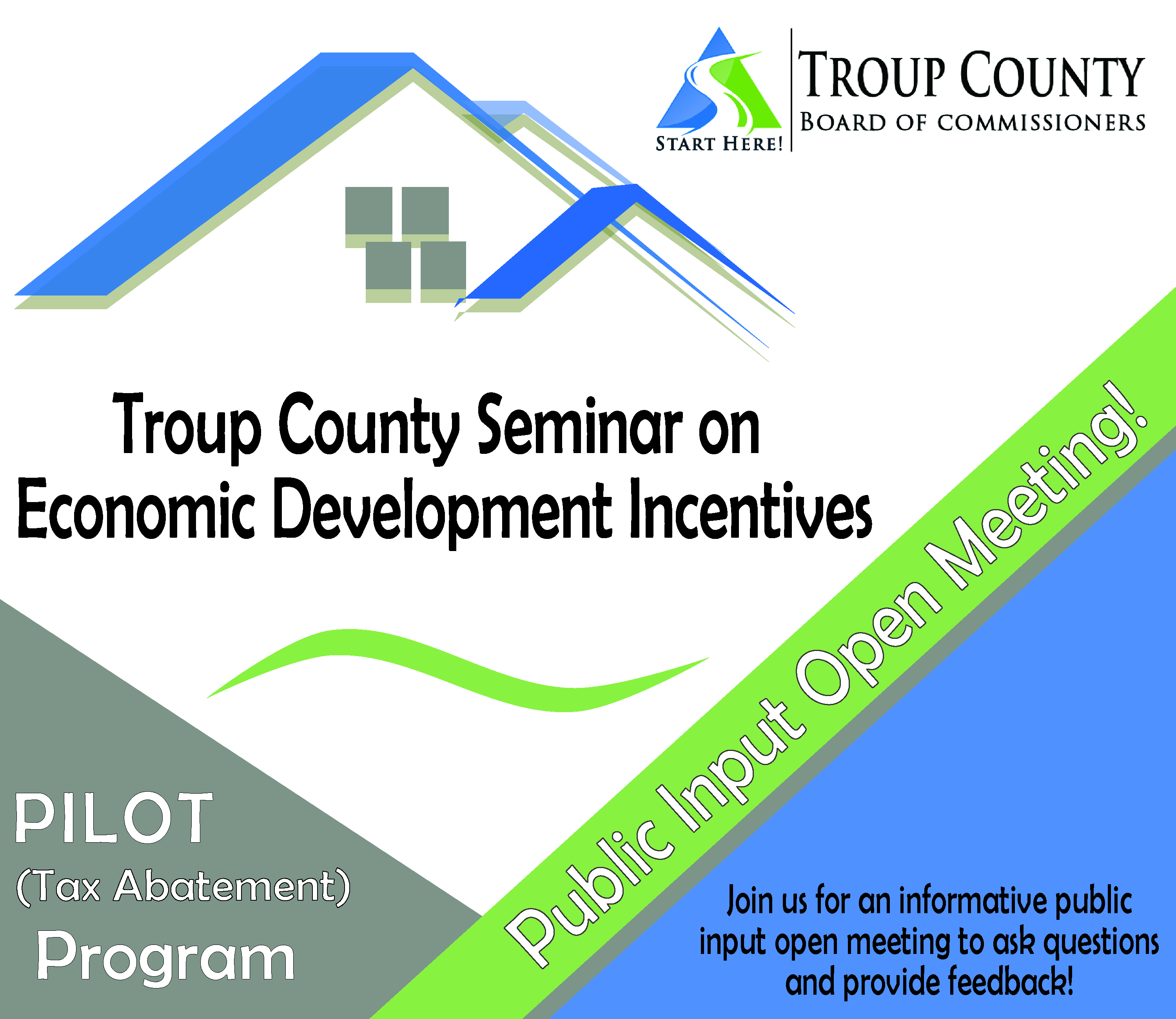 troup county seminar on economic development flyer