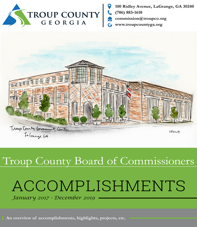 Troup County Accomplishments flyer
